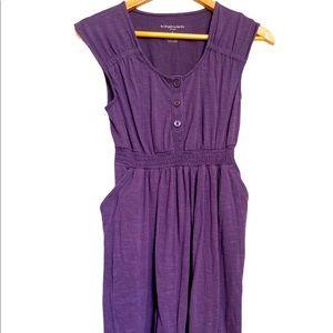 Liz Lange Maternity Large Dress Purple